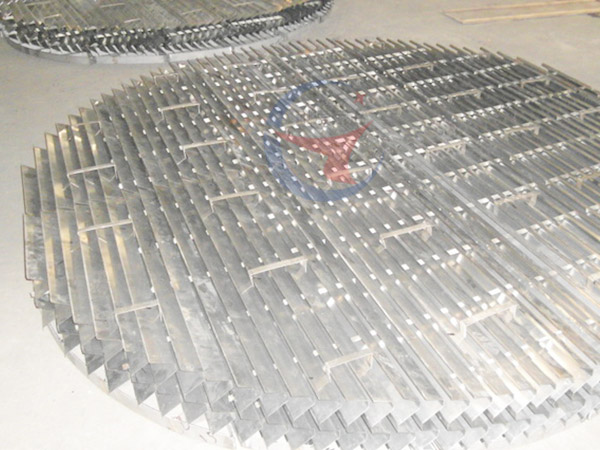Plastic plate corrugated packing