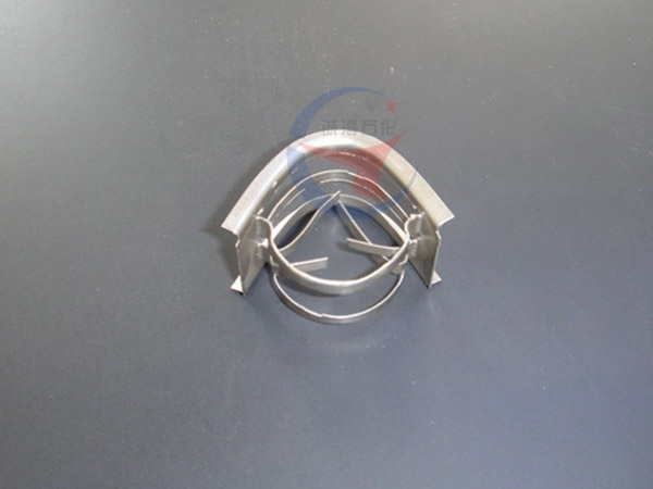 Metal IMTP rectangular saddle ring packing